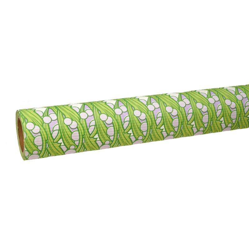 Papier karbowany - fioletowe kulki