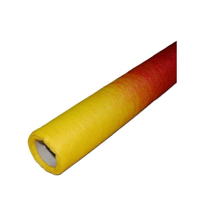 Flizelina 50 cm x 7 m   Zm157 - Żółty i czerwony