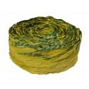 Krepina - wstążka oliwkowo-zielona