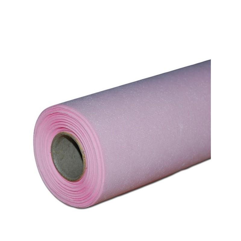 Flizelina 50 cm x 20 m   08 - Różowy jasny