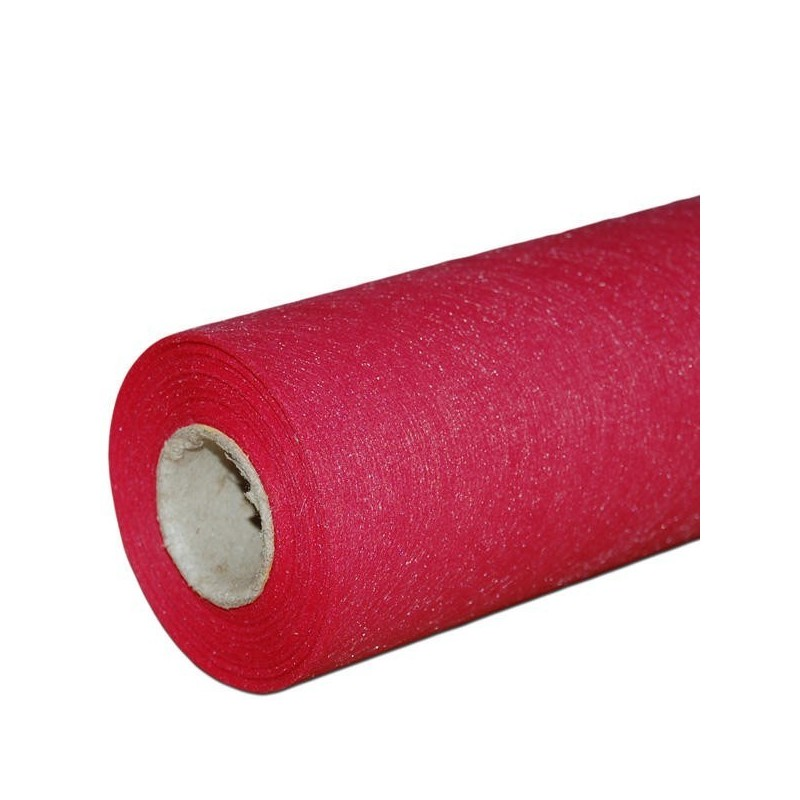 Flizelina 50 cm x 20 m | 5139  - Czerwony