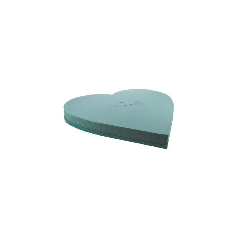 Serce na plastiku - 50 cm | 2szt  Victoria®