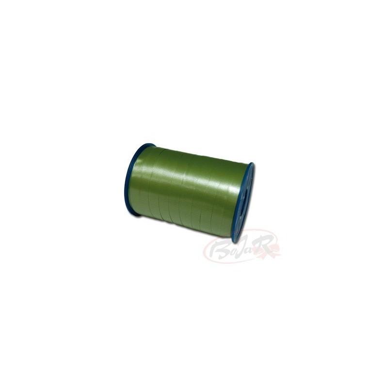 Szpulka zielona gładka | 1 cm x 200 m