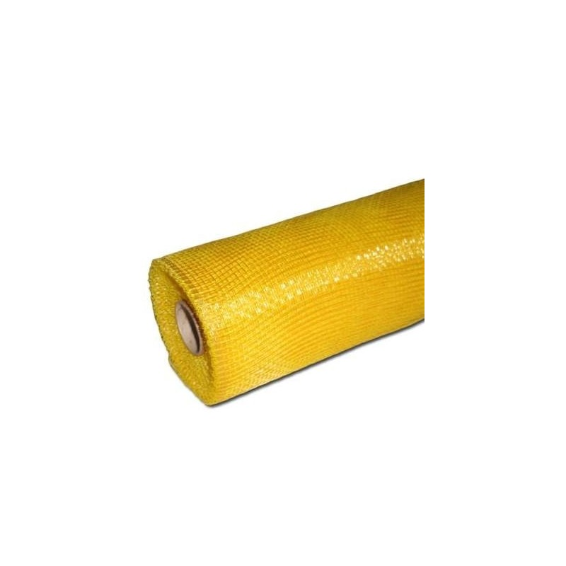 Siatka plastikowa 50 cm x 10y - 05 Pomarańczowy