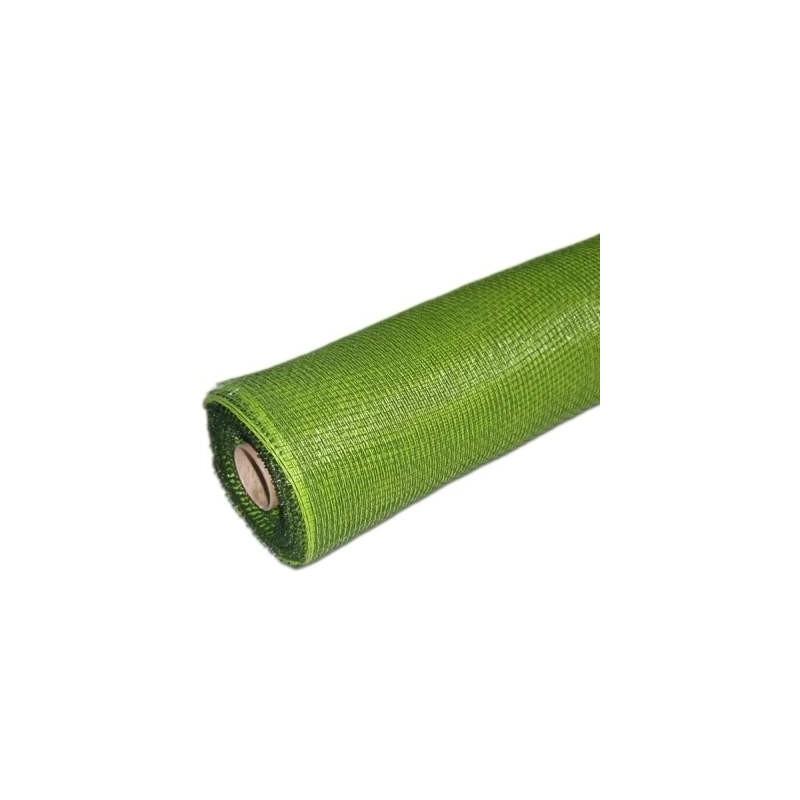 Siatka plastikowa 50 cm x 10y - 20 Zielono-czarna