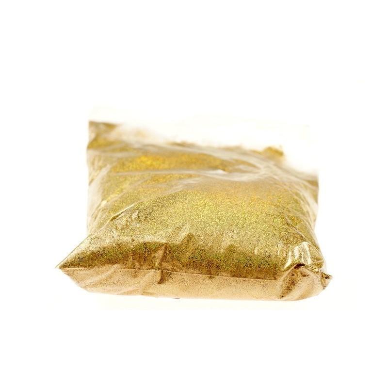 Brokat złoty OPAKOWANIE 1 KG | Kolor złoty