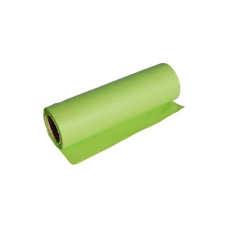Papier dekoracyjny  25 cm x 20 m - Zielony jasny
