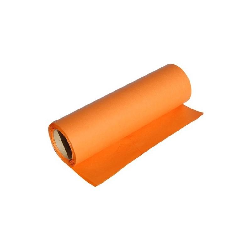Papier dekoracyjny  25 cm x 20 m - Pomarańczowy
