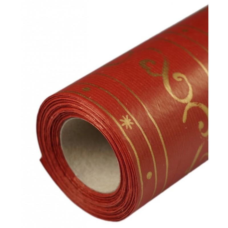 Papier dekoracyjny świąteczny  25 cm x 20 m - S0