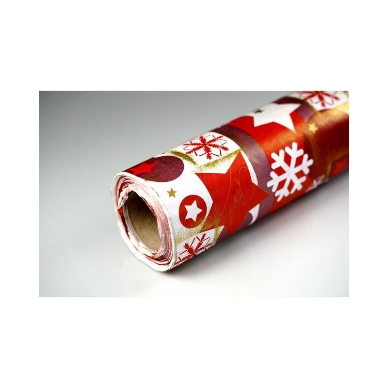 Papier dekoracyjny świąteczny  25 cm x 20 m - S15