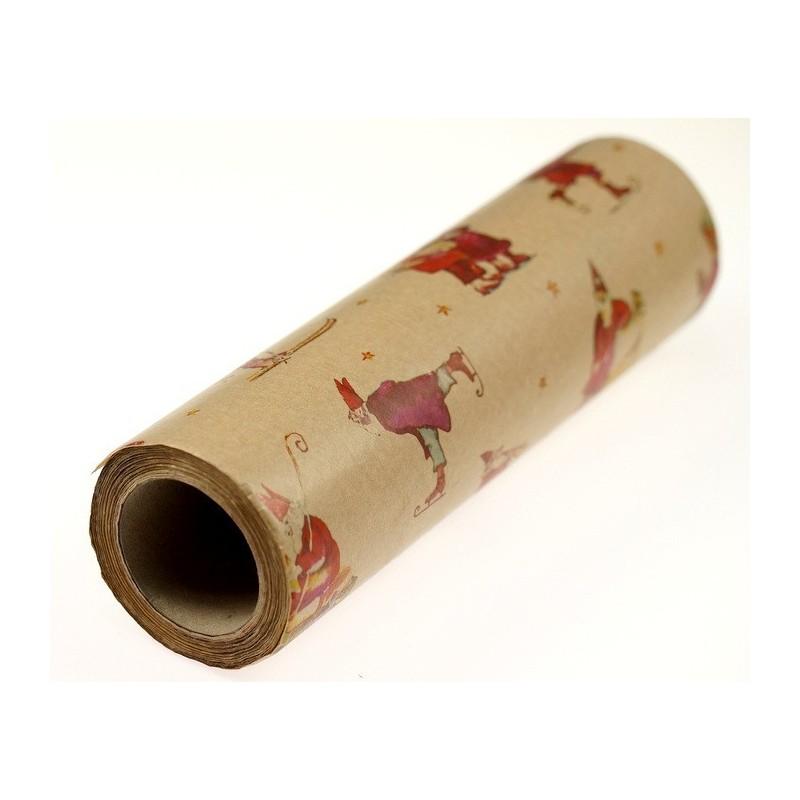 Papier dekoracyjny świąteczny  37,5 cm x 10 m
