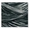 Rafia włoska - R205 - Czarny i srebrny