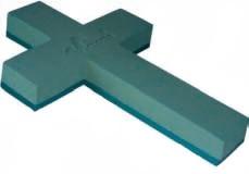 krzyż na plastiku