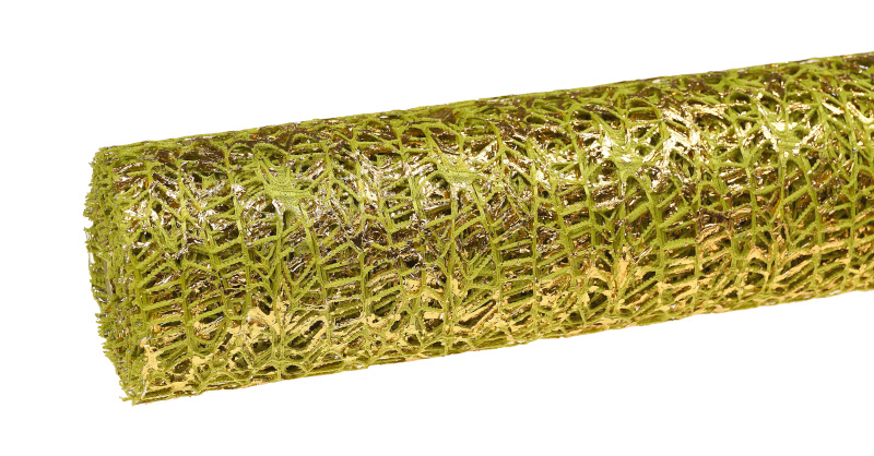 zielona siatka koronkowa