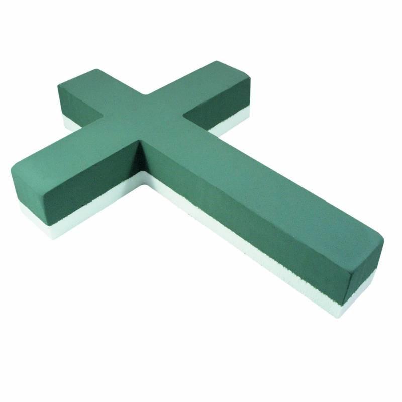 krzyż na styrodurze