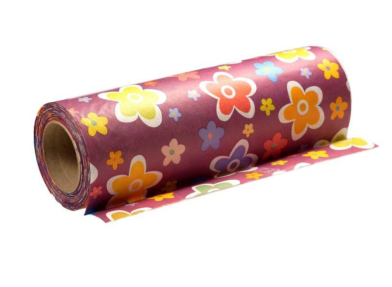 papier w kwiaty